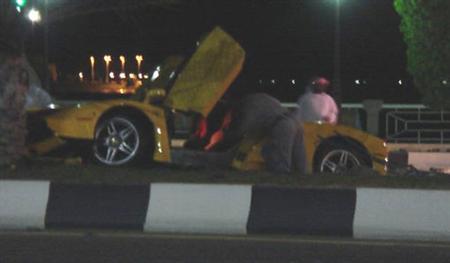 Otro Ferrari Enzo siniestrado