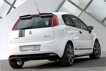 Fiat Grande Punto Tuning por MS Line Design