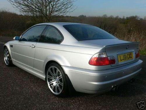 El M3 de Coulthard en eBay
