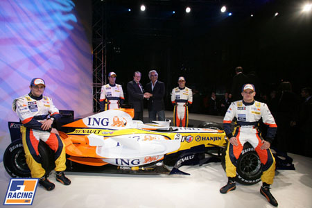 Renault luce sus nuevos colores por primera vez en Holanda