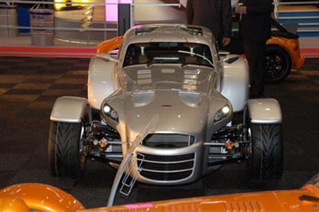 Donkervoort D8 GT, fotos de Ginebra