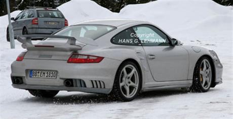 Fotos espía del Porsche 911 GT2