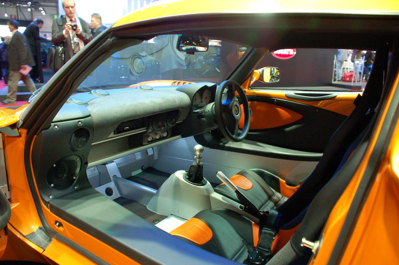 Lotus Exige GT3 Concept en el salón de Ginebra