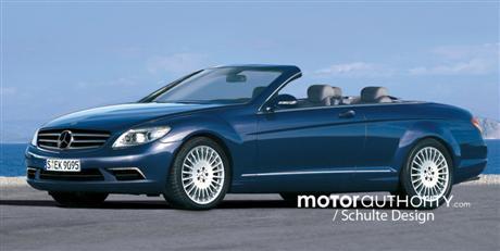 Mercedes Benz CL Convertible