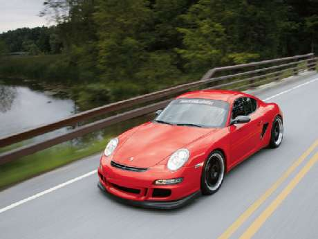 Porsche Cayman GTR, la obra maestra de Farnbacher Loles