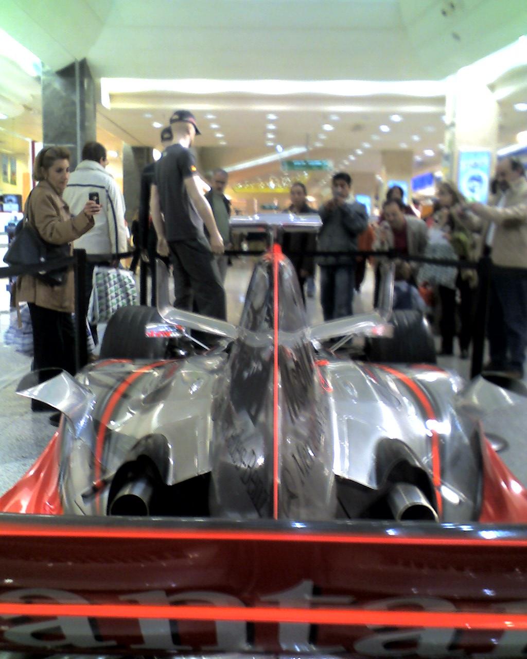 McLaren expuesto 4