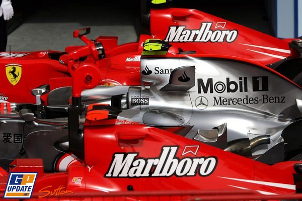 Sándwich Ferrari-McLaren Bahrein
