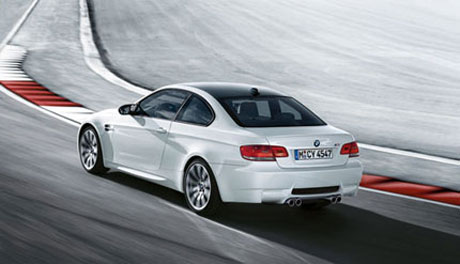 BMW M3 blanco