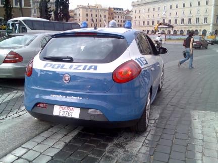 Fiat Bravo policía