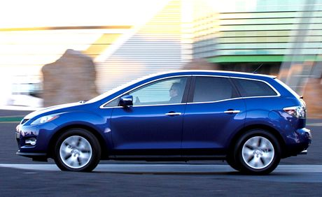 Mazda CX-7, ya a la venta