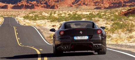 Ferrari y los gases contaminantes