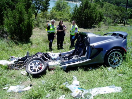 Lotus Elise accidente