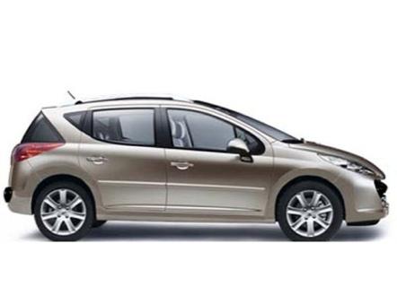 Peugeot 207 SW, imágenes oficiales