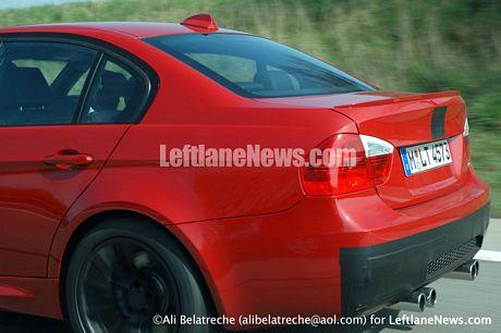 BMW M3 Sedán, fotografiado hasta la saciedad