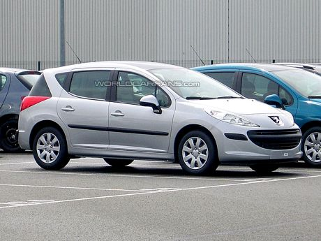 Peugeot 207 SW, cazado en la recta final