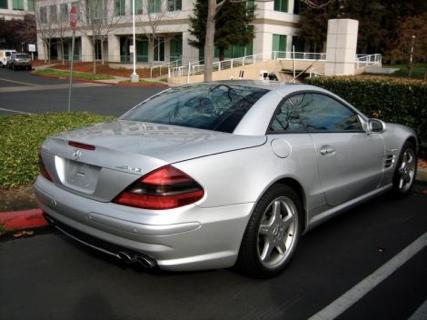 Mercedes SL55 AMG Steve Jobs