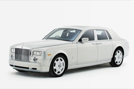 Rolls-Royce Phatom Silver