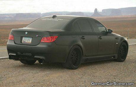 BMW M5 Negro mate