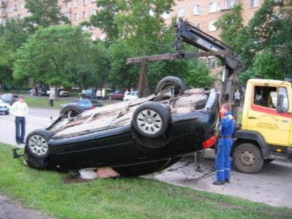 Audi A4 B7 accidente