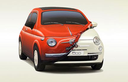 Funda Fiat 500