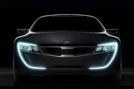 KIA coupé concept