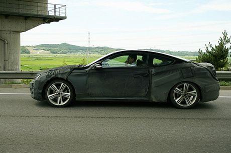 Hyundai Coupe 2008, fotos espías
