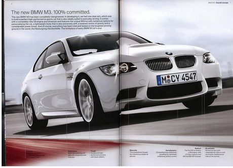 Folleto del BMW M3
