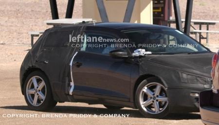 Fotos espía del Volkswagen Scirocco 2009