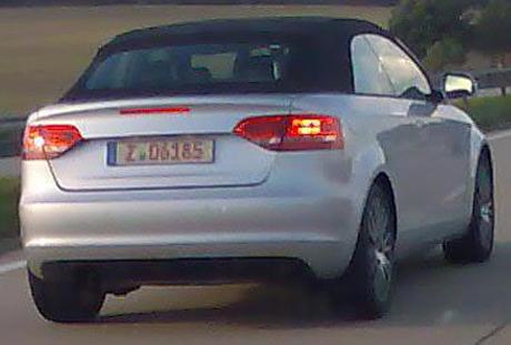 Audi A3 Cabrio destapado