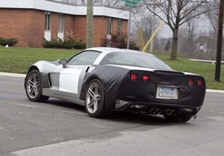 Corvette C7 con motor central