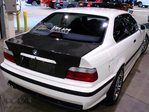BMW M3 con el V8 LS6 del Corvette