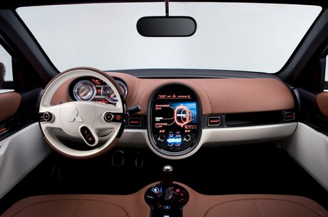 Mitsubishi Concept-cX, fotos oficiales
