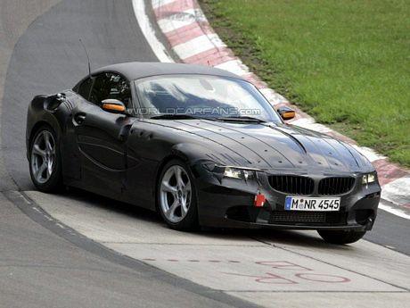 Así es el frontal del BMW Z4