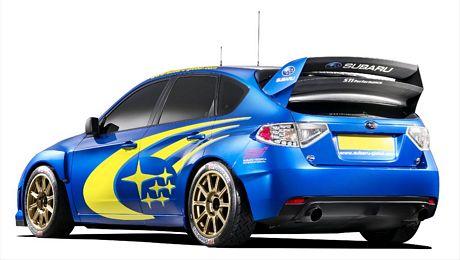 concept del Subaru Impreza WRC