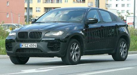 Mas fotos espías del BMW X6