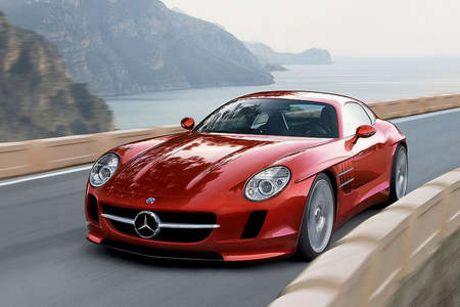 Diseño del Mercedes 300 SLC