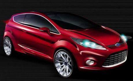Concept del Ford Fiesta