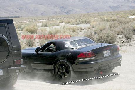 Sí, era un Viper... más fotos del Mercedes SLC