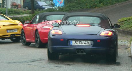Porsche Boxster, Porsche Cayman