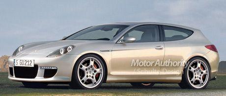 Recreación del compacto de Porsche