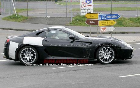 Fotos espías del Ferrari Dino