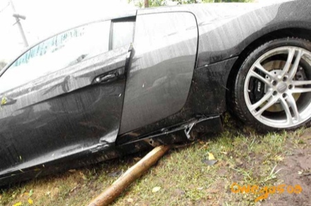Accidente Audi R8