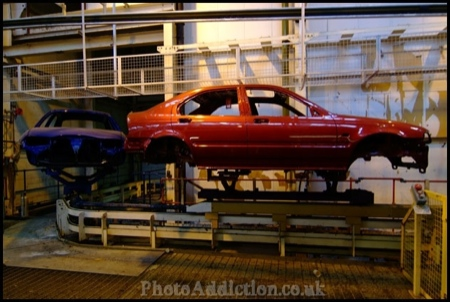 Fábrica MG Rover