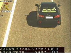 Lexus velocidad