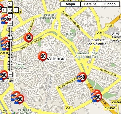 Radares Valencia