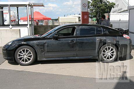 Fotos espías del... ¡Porsche Panamera! pero esta vez con novedades