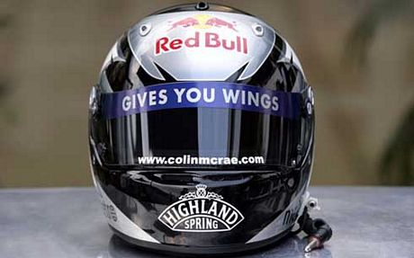Casco David Coulthard Colin McRae