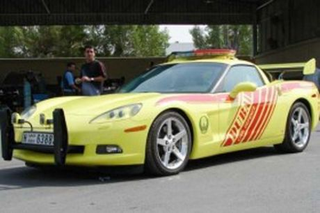 Corvette de bomberos