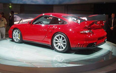 Porsche 911 GT2 desde el salón de Frankfurt