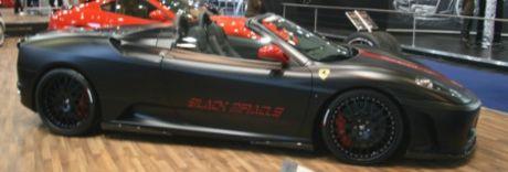 Hamman Black Miracle Ferrari F430